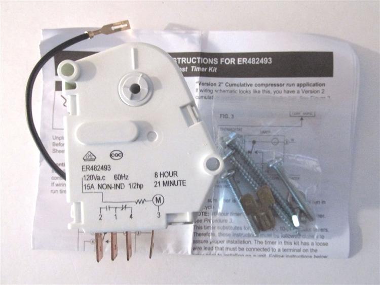defrost timer 67001036 wiring diagram defrost clock wiring