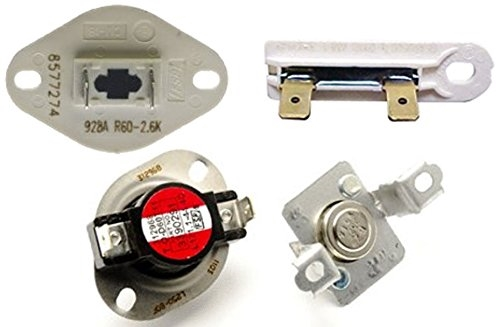 Duet He3 Electric Dryer Thermistor Replacement 8577274 - Imagez co