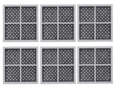 6 Pack Lg Refrigerator Air Filters Lt120f Adq73214404